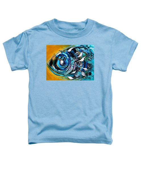 Ochre Fish Four Toddler T-Shirt