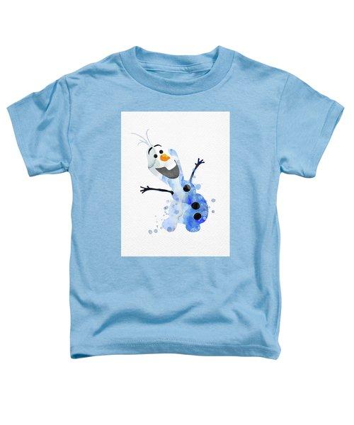 Olaf Watercolor Toddler T-Shirt
