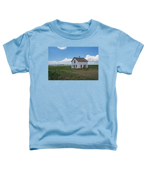 Old Abandoned House In Farming Area Toddler T-Shirt