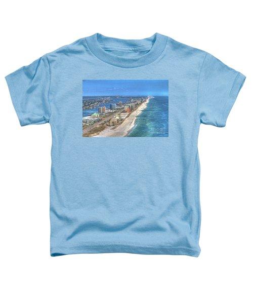 Orange Beach East Toddler T-Shirt