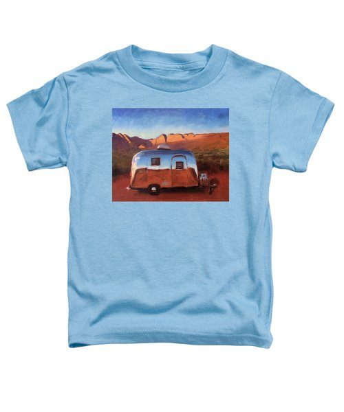 Orange Light On Red Rocks Toddler T-Shirt
