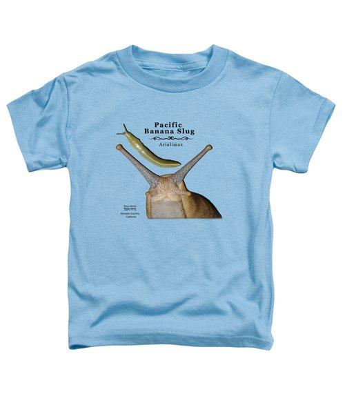 Pacific Banana Slug Toddler T-Shirt