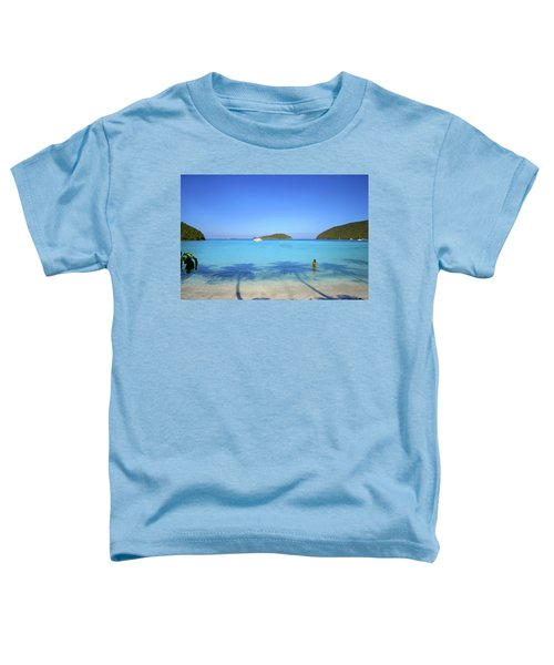 Palm Shadows On The Atlantic Toddler T-Shirt