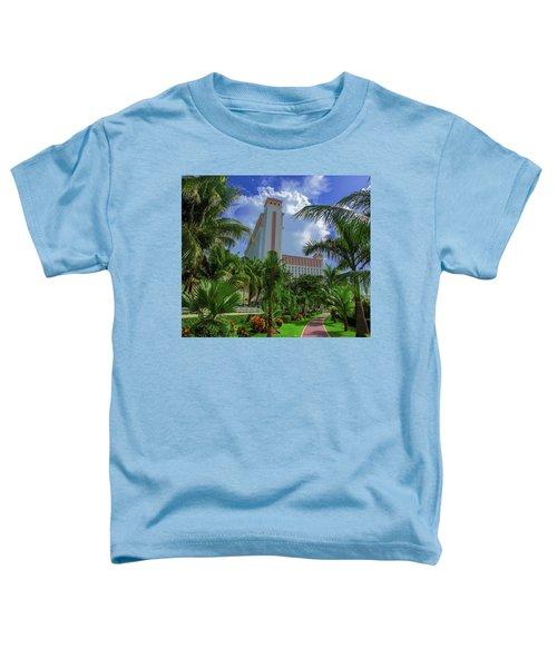 Palms At The Riu Cancun Toddler T-Shirt