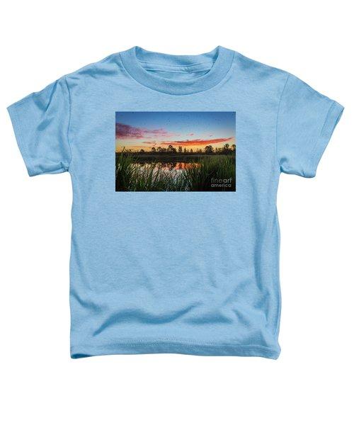 Phinizy Swamp Sunrise - Augusta Ga Toddler T-Shirt