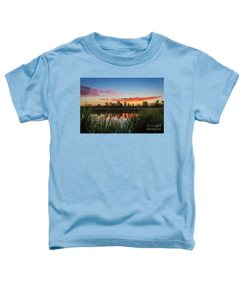 Phinizy Swamp Sunrise - Augusta Ga Toddler T-Shirt