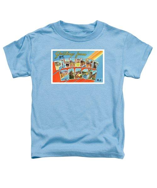 Point Pleasant Beach Greetings Toddler T-Shirt