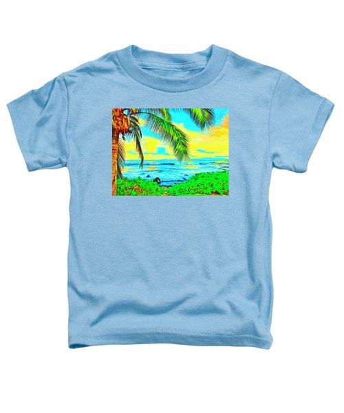 Poipu Sunrise Toddler T-Shirt