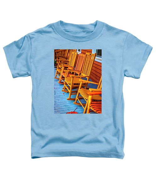 Porch Rocking Chairs Toddler T-Shirt
