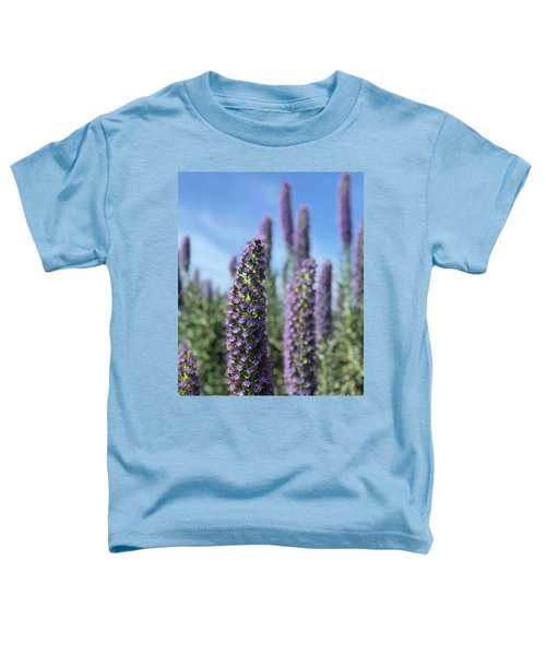 Purple Hyssop  Toddler T-Shirt