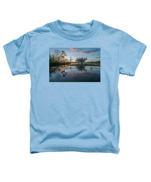 Quiet River Sunset Toddler T-Shirt