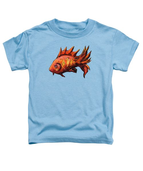 Red Fish Toddler T-Shirt