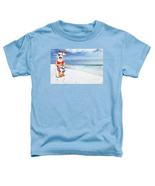 Santa Lifeguard Toddler T-Shirt