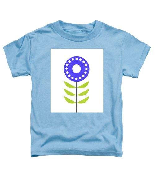 Scandinavian Yellow Green Flower I Toddler T-Shirt