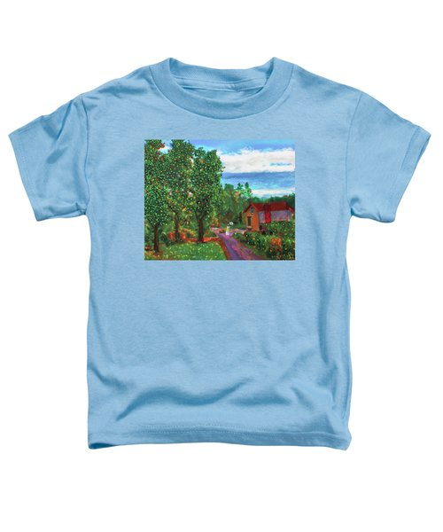 Scene From Giverny Toddler T-Shirt