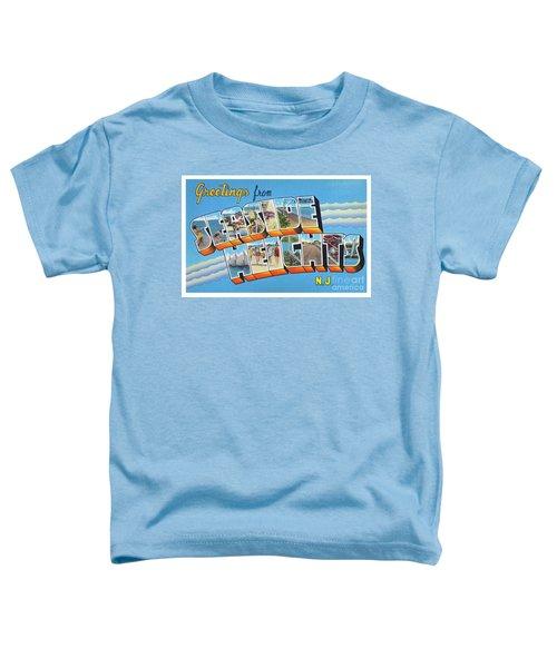 Seaside Heights Greetings Toddler T-Shirt