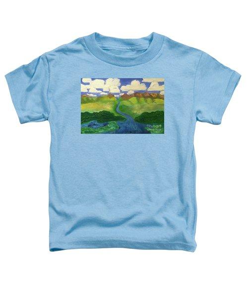 Sky River To Sea Toddler T-Shirt