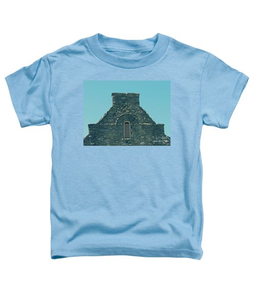 Stone Topper On Building Toddler T-Shirt