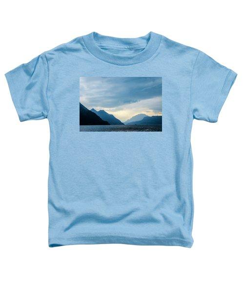 Storm Clouds On Lake Lucerne Toddler T-Shirt