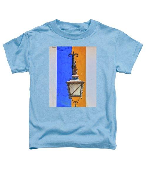 Street Lamp Of Obidos Toddler T-Shirt