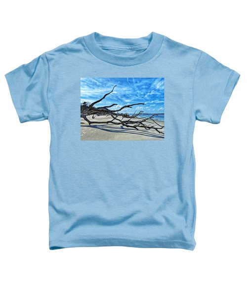 Stretch By The Sea Toddler T-Shirt