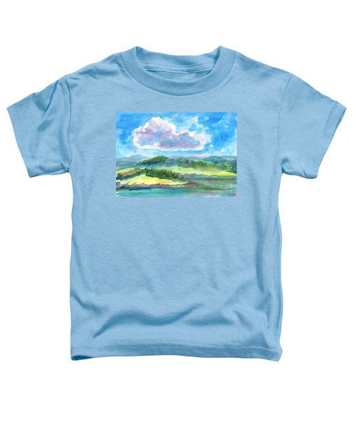 Summer Cloud In The Azure Sky Toddler T-Shirt