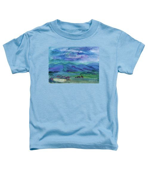 Summer Night Toddler T-Shirt
