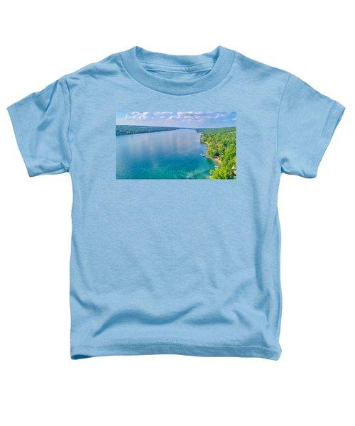 Summer On Keuka Lake Toddler T-Shirt