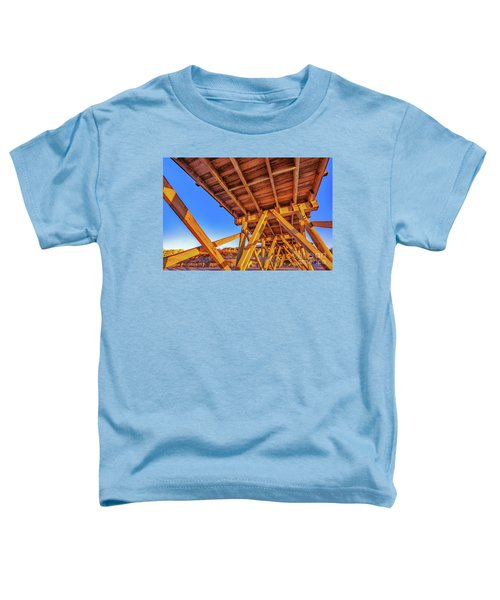 Sunrise Under The Sea Cabin Pier  Toddler T-Shirt