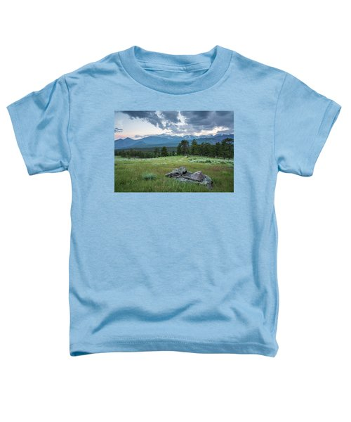 Sunset In Rocky Mountain National Park  Toddler T-Shirt