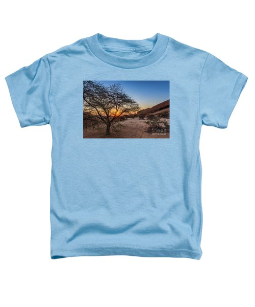 Sunset In Spitzkoppe, Namibia Toddler T-Shirt