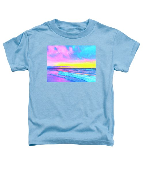 Sunset On The Kona Coast Toddler T-Shirt