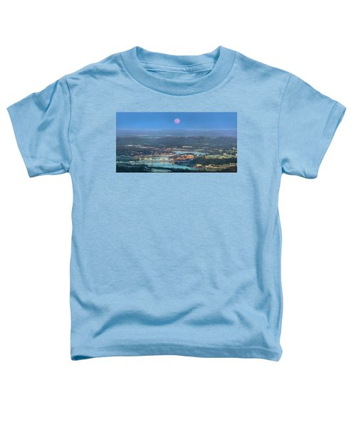 Super Moon Over Chattanooga Toddler T-Shirt