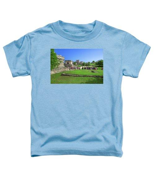 Temples Of Tulum Toddler T-Shirt