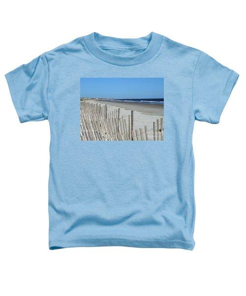 The Beach At Holden Beach North Carolina Toddler T-Shirt
