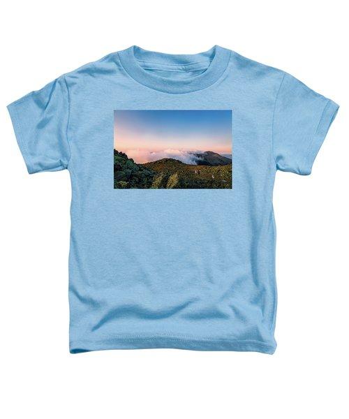 The Hiker - Mt Jefferson, Nh Toddler T-Shirt