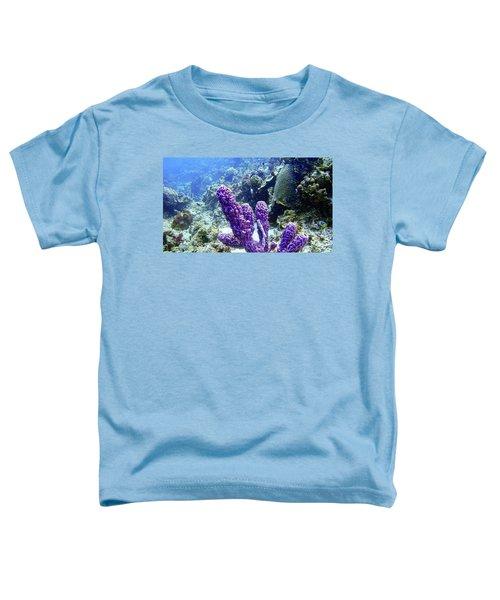 The Purple Sponge Toddler T-Shirt