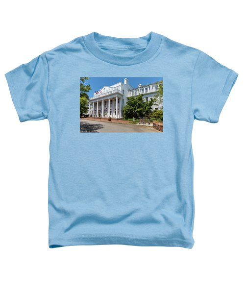 The Willcox Hotel - Aiken Sc Toddler T-Shirt