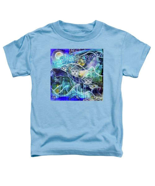 Three Houses On A Cliff Toddler T-Shirt
