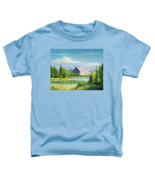 Tuolumme Meadows Spring Toddler T-Shirt