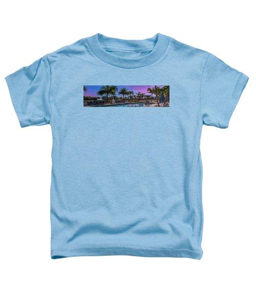 Twilight Pool Toddler T-Shirt