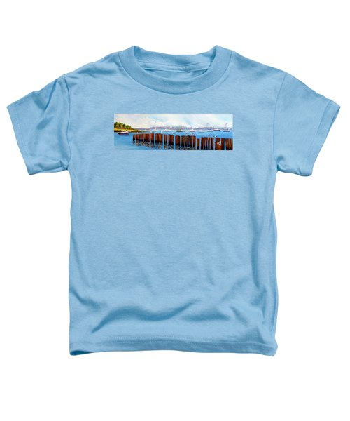 View From The Moshier's Tiki Bar Toddler T-Shirt