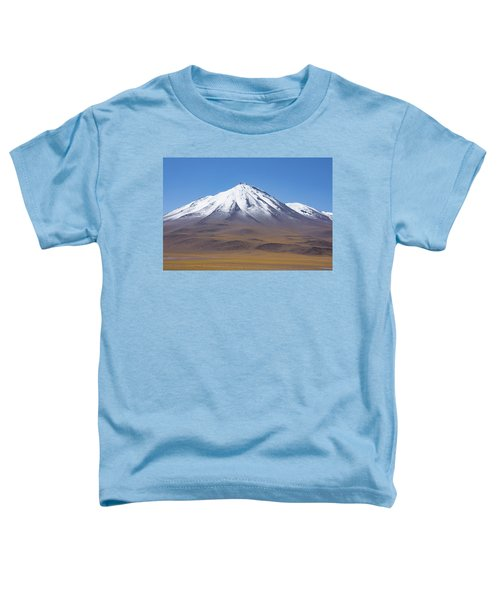 Volcano On The Altiplano Toddler T-Shirt