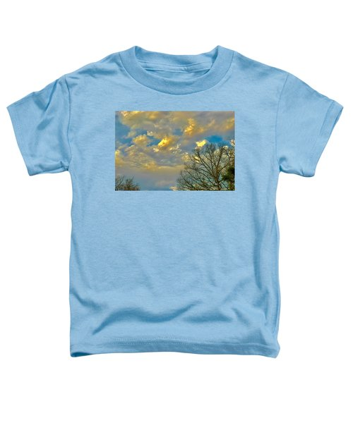Warm And Cool Sky Toddler T-Shirt