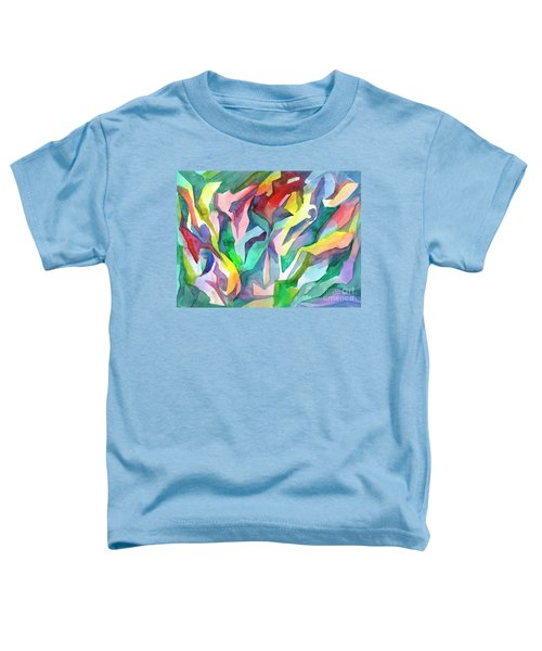 Watercolor Mosaic Toddler T-Shirt