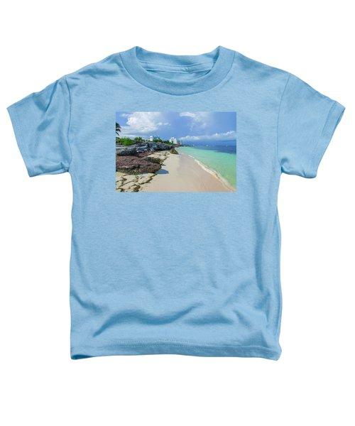 White Sandy Beach Of Cancun Toddler T-Shirt