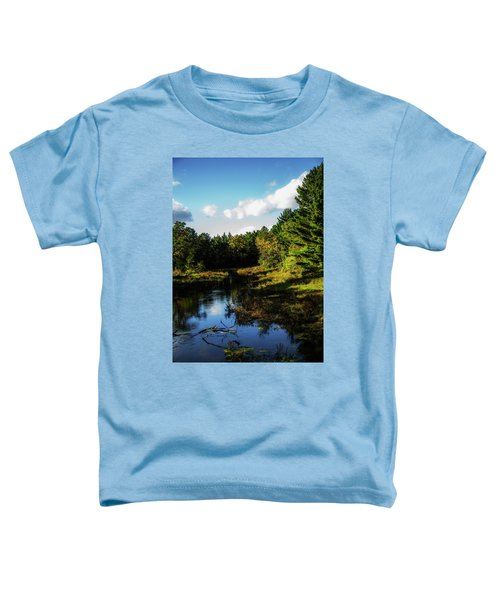 Wisconsin Waterscape Toddler T-Shirt
