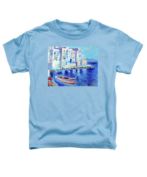Wondrous Mykonos  Toddler T-Shirt