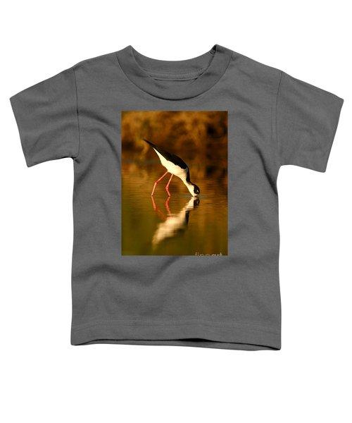Stilt In Gold Toddler T-Shirt