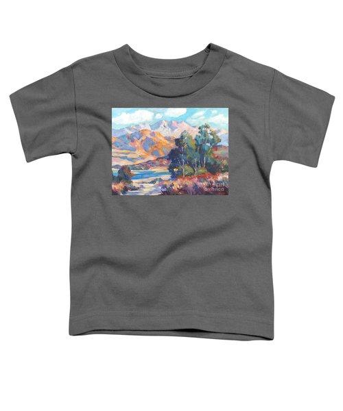 California Lake Toddler T-Shirt